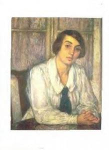 T van Rysselberghe - Elisabeth - 1925