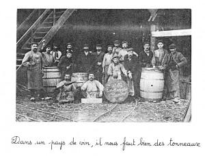 Atelier de tonnellerie Demptos Cambes début du XXè siècle